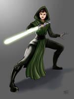 Jedi 02 by intocidraw