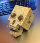Robot Skull papercraft