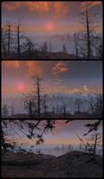Pretty Sunset in Far harbor