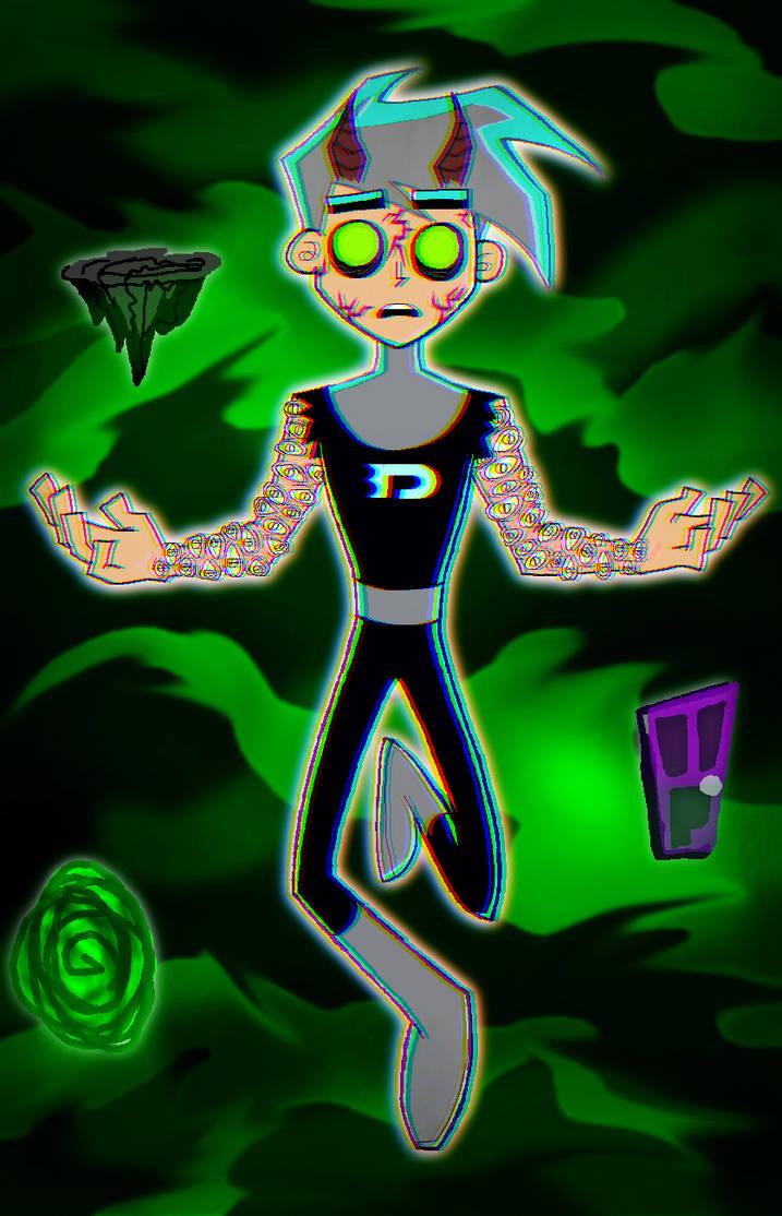 Danny Phantom Over Watcher Of The Ghost Zone By Zora Steam On Deviantart
