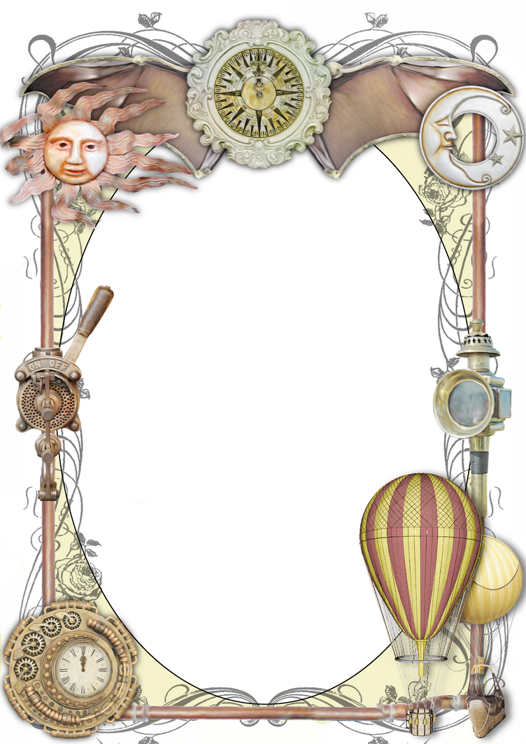 Steampunk Frame 2 by lumpi69 on DeviantArt