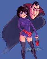 Hotel Transylvania Dracula et Mavis by pgii06