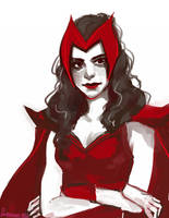 Scarlet Witch by feyuca