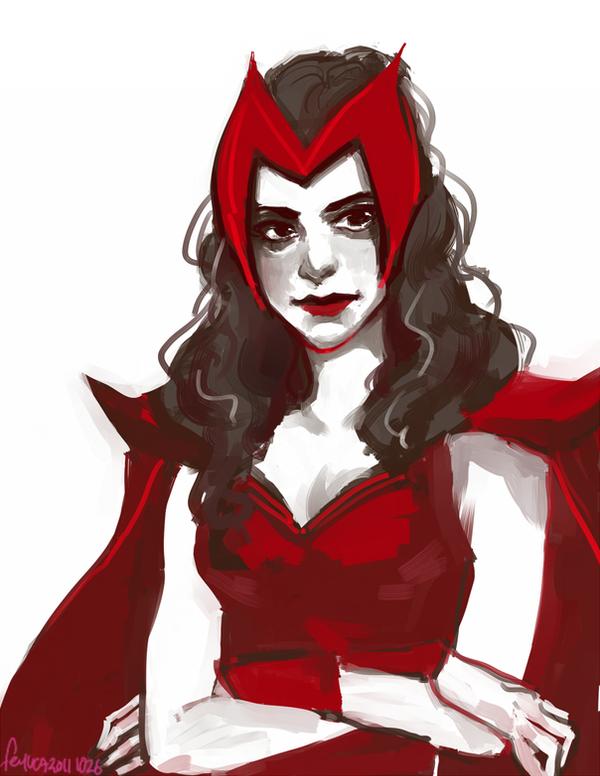 Scarlet Witch by feyuca