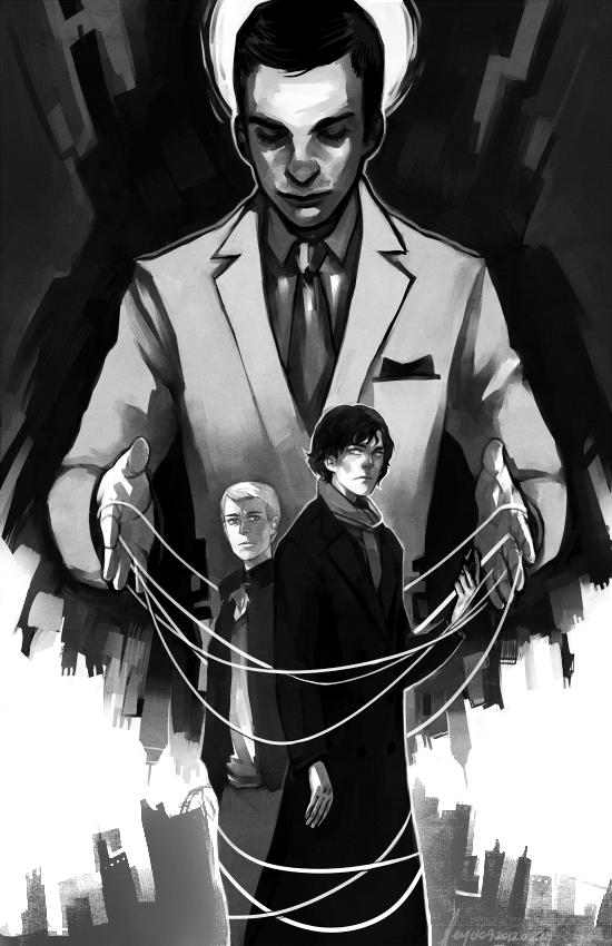 Sherlock - Spider by feyuca
