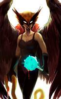 Hawkgirl by feyuca