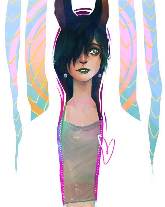Bunny Gal by feyuca