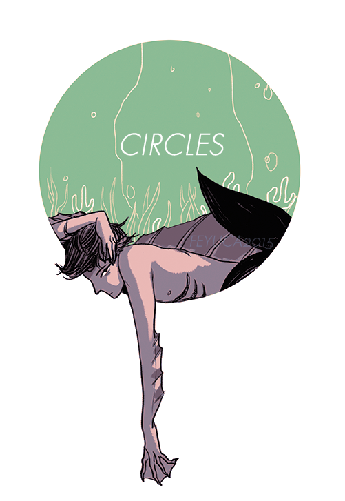Circles Sketchbook Preorder by feyuca