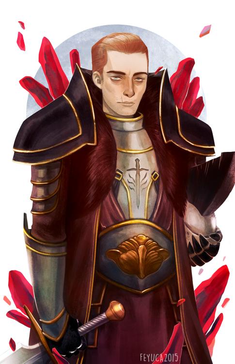 Red Lyrium Cullen by feyuca