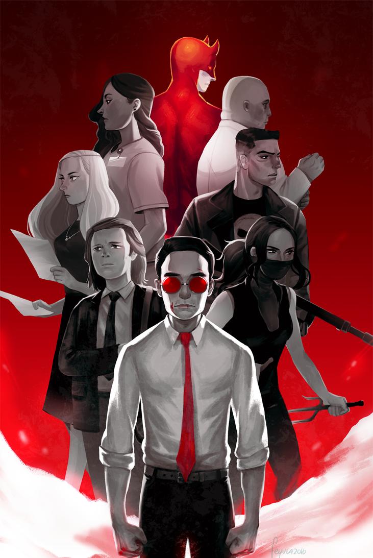 Daredevil by feyuca