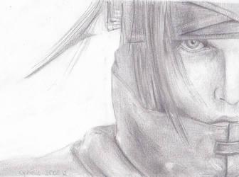 Vincent Valentine by Tekesuta