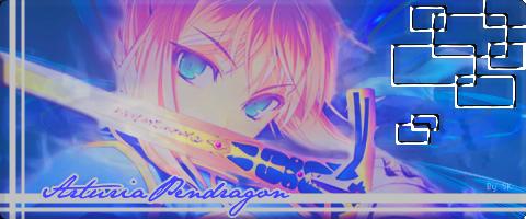 Arturia Pendragon by NerineLykoris