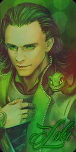 Loki by NerineLykoris