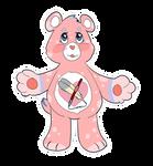 Care Bear Base by queenofblackcrows