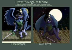 13 Years of Progress by queenofblackcrows