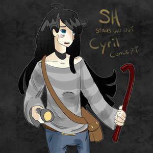 SH concept character art Cyrus