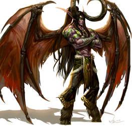 Demon Hunter Illidan Stormrage by SiaKim