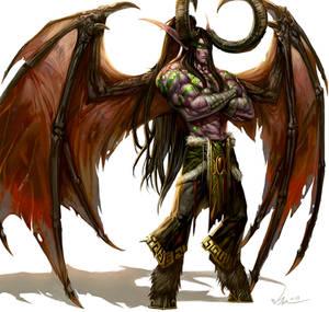 Demon Hunter Illidan Stormrage