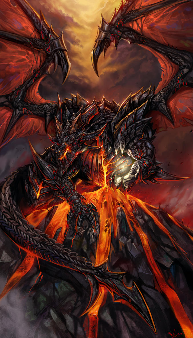 Deathwing and Demon Soul by SiaKim
