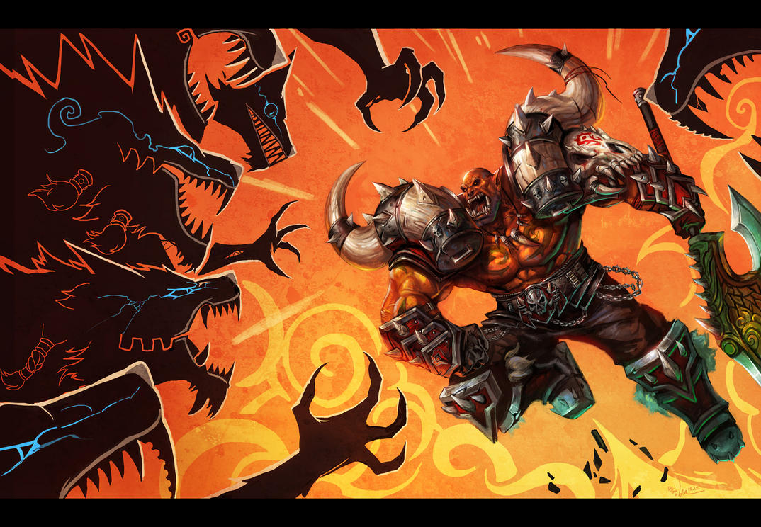 GO GO Garrosh by SiaKim