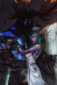 Tyrande and Malfurion