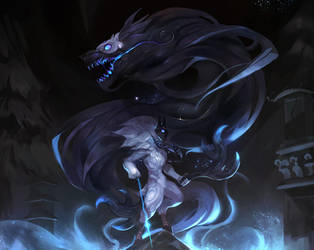 kindred (league of legends) by SiaKim