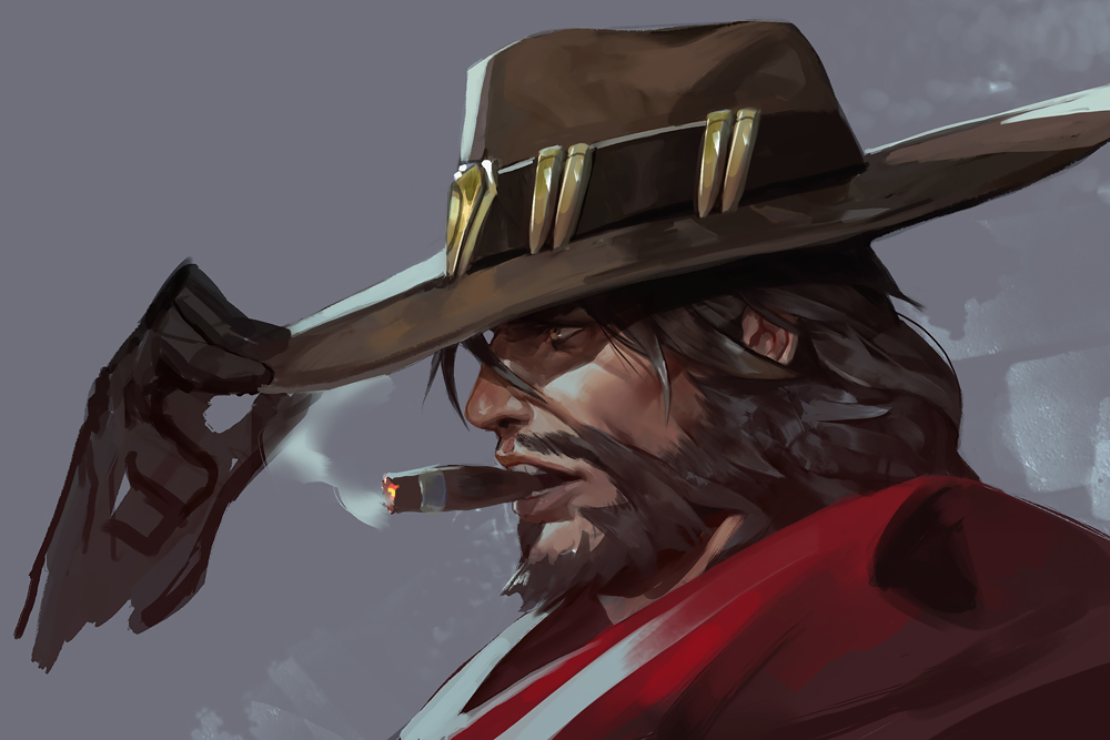 McCree Cigar Aim Practice Learn to Aim Overwatch