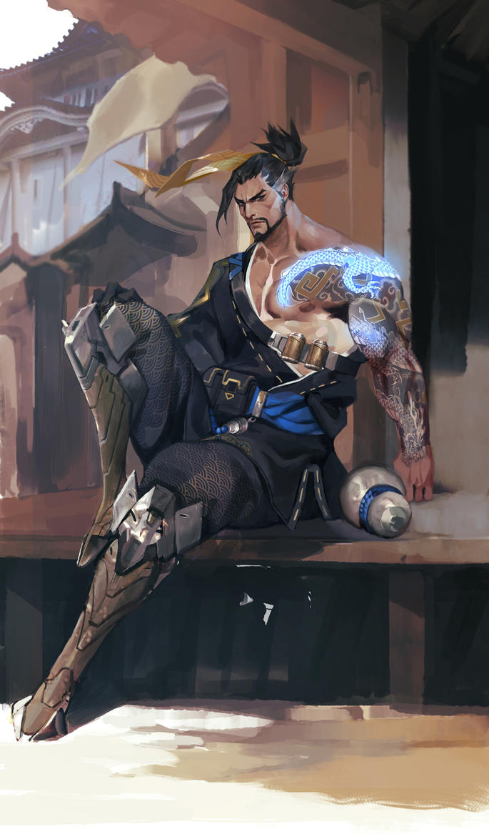 overwatch hanzo by SiaKim