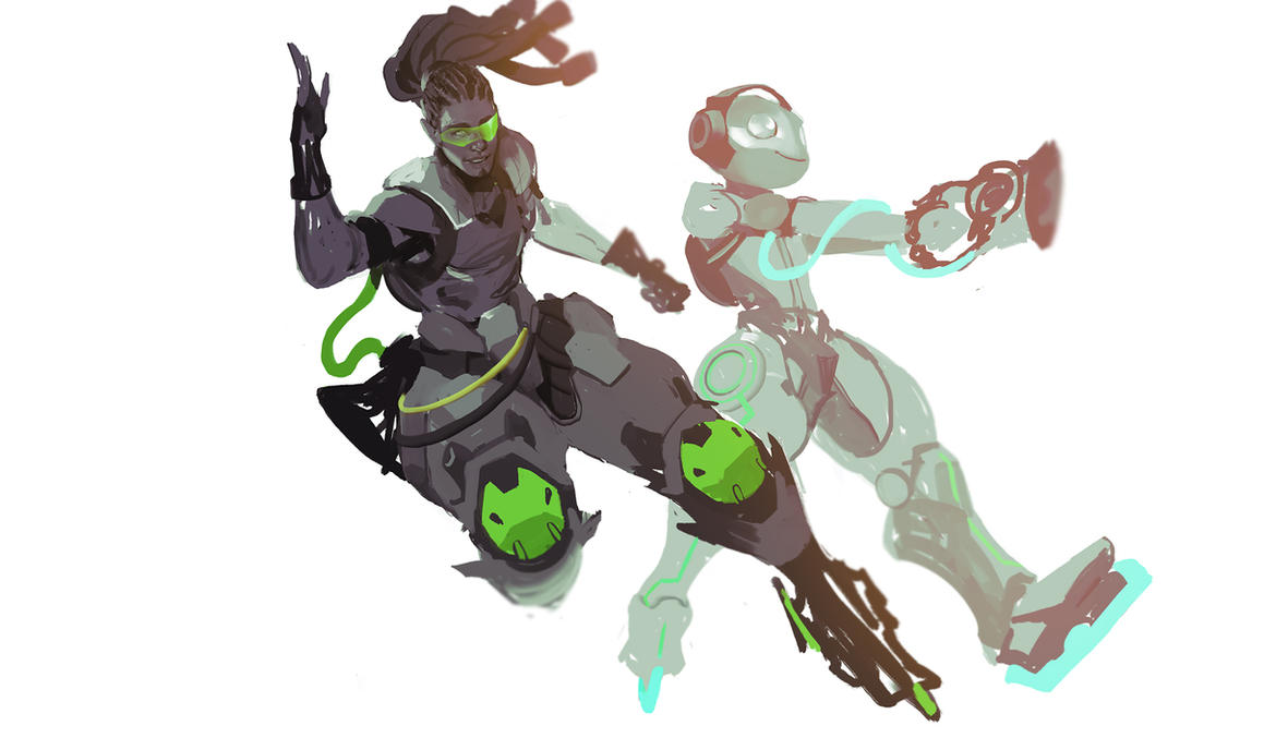 Overwatch has developed quite a fan art following     | NeoGAF