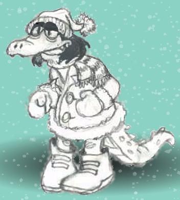 Icy Gator Gal by GatorGod