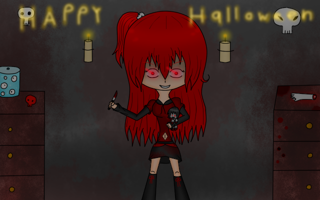 .:Happy Halloween!:. by PrincessSkyler