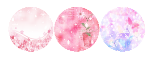 Pink Page Dividers: Flowers and Butterflies by PrincessSkyler