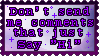 Stamp: I can't stand these types of messages by PrincessSkyler