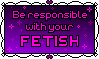 Stamp: Dear Fetish Communities by PrincessSkyler