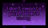 Stamp: I don't mean to by PrincessSkyler