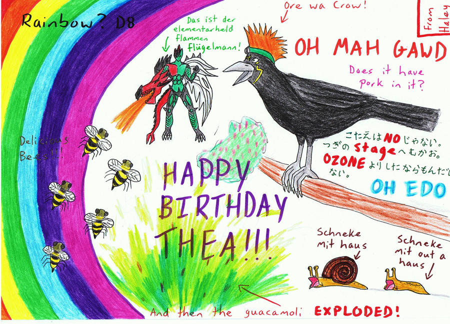 Birthday Madness for Thea by thingy-me-jellyfis on DeviantArt