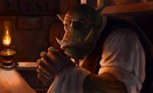 Orc Bartender