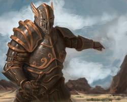 Random knight thing by Izzual