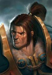 King Varian Wrynn by Izzual