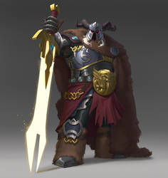 Character Design -Executioner (rendered version)