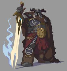 Character Design -Executioner (line version)