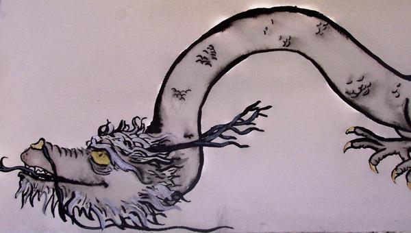 Lazy Dragon by Jecksy