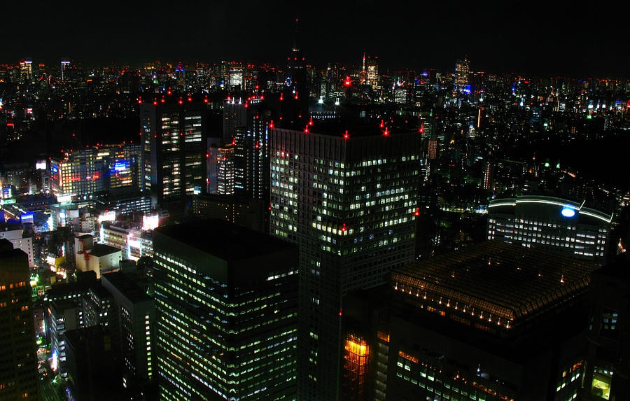 Tokyo Night Skyline I By Mkcream On Deviantart
