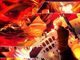 HMLS: WAR [1] - Burning by nekoyasha89