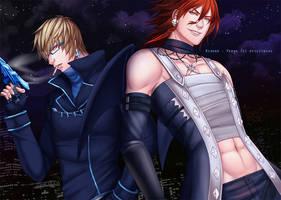 Commission : Rixoko and Verax by nekoyasha89