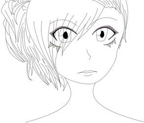 When I'm bored - Line arted by OhaiKei