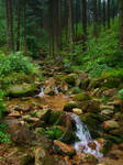 Stream in mountains III by Vrolok-stock
