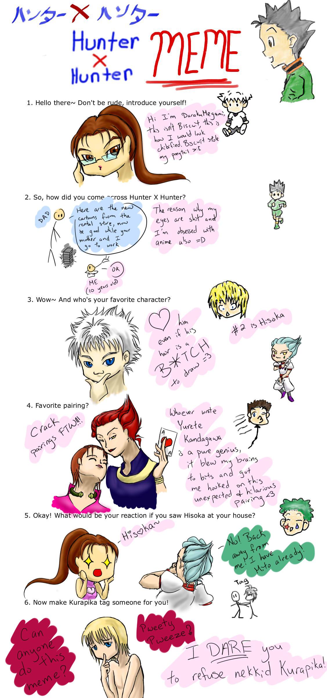 Hunter X Hunter Archives Animememes