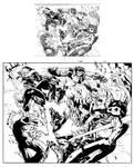 X-men 201 pag 2-3 ink