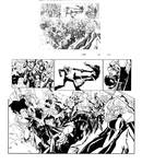 X-men 202 pag 11 and 12 inks